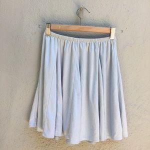 Brandy Melville Light Blue Sanny Skirt